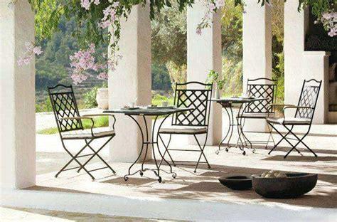 sedie da giardino in ferro arredi giardino in ferro 2016 foto 9 30 design mag
