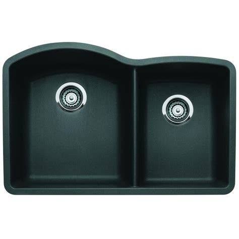 blanco undermount kitchen sink blanco undermount composite 32 in 1 3 4