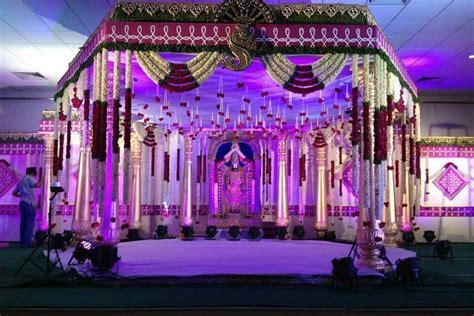 Telugu wedding decor   Indian Wedding Decor in 2019