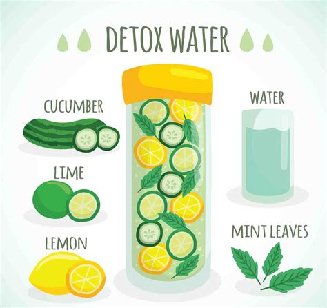 Does You Sking Get When You Are Detoxing by Detox Water Recipes For Weight Loss