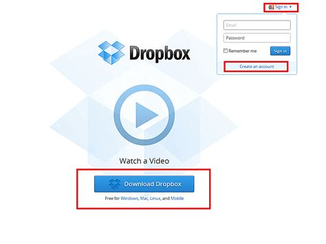 dwonload dropbox how to install dropbox on your pc