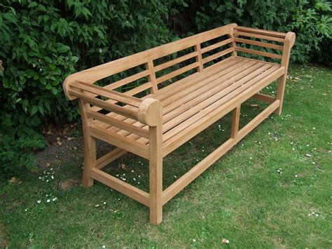 low back bench teak garden bench low back marlborough