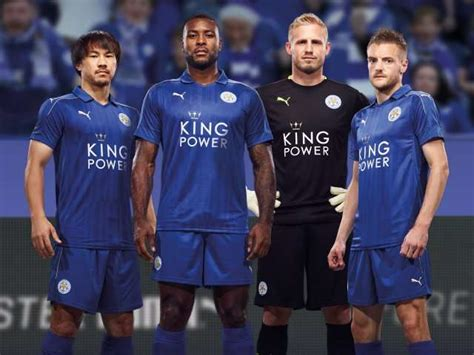 Leicester Home Leicester Away leicester city 16 17 home and away kits officially released photos of the leicester city 2016