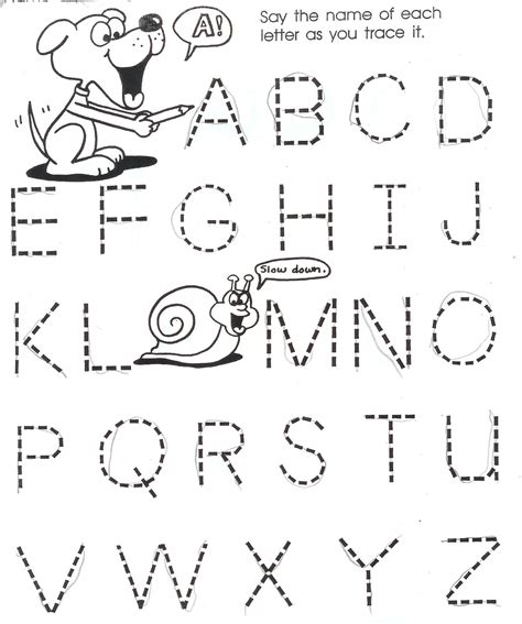 printable alphabet homework momma ph d applying child development principles at