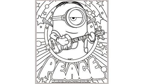 imagenes en blanco y negro minios 56 dibujos de minions para descargar gratis imprimir y