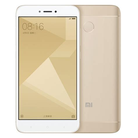 Xiaomi Note4x 332 Gold xiaomi redmi 4x 3 32gb dual sim miui 8 octa 1 4ghz 5 0 inch hd 5 0 13 0mp gold 16163