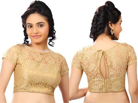 golden color blouse golden colour blouse design images blouses galleries