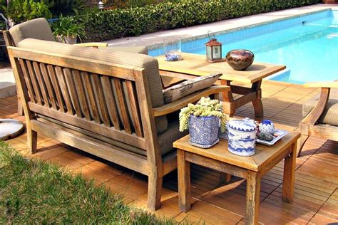 Wood Outdoor Patio Furniture How To Clean And Care For Wood Garden Furniture