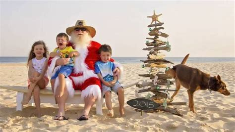 dog peeing in same spot in house family dog urinating in santa photo wins christmas newcastle herald