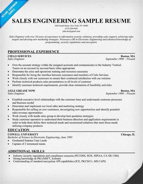 Sample Resume Engineering   Sample Resume