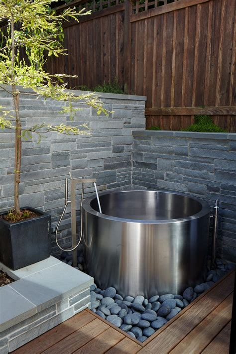Japanese garden hot tub pool contemporary with spa contemporary outdoor lounge chairs