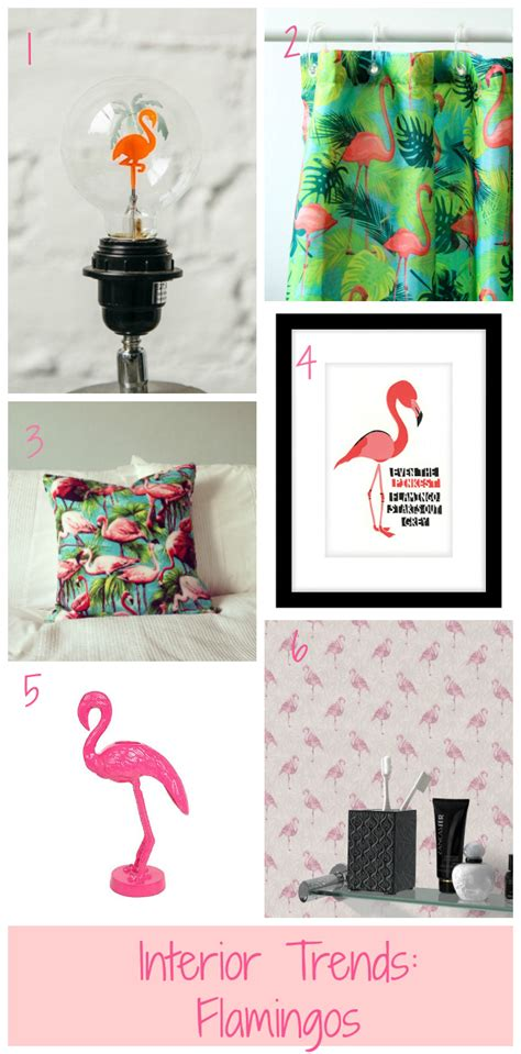 Flamingo Home Decor by Interior Trends Flamingos By Jen Stanbrook The Oak