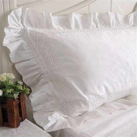 White Lace Pillow Shams by White Lace Pillow Shams Promotion Shop For Promotional