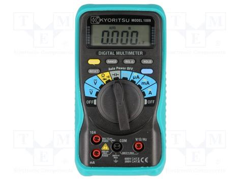 Multimeter Digital Kyoritsu kew1009 kyoritsu digital multimeter tme electronic