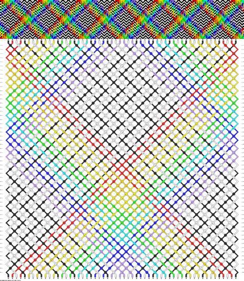 pattern of net 34737 friendship bracelets net