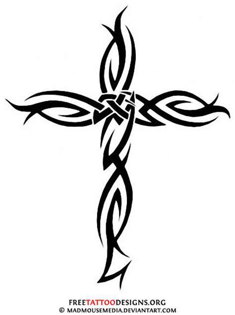 tattoo cross tribal design 50 cross tattoos tattoo designs of holy christian