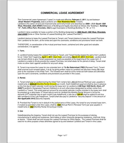 Commercial Lease Offer Letter Template Search Results For Sle Proposal Calendar 2015