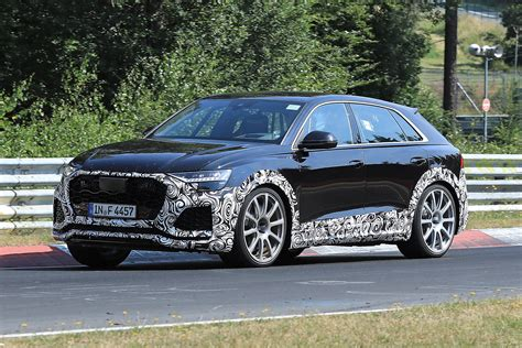 New Audi RS Q8 caught on camera   Auto Express