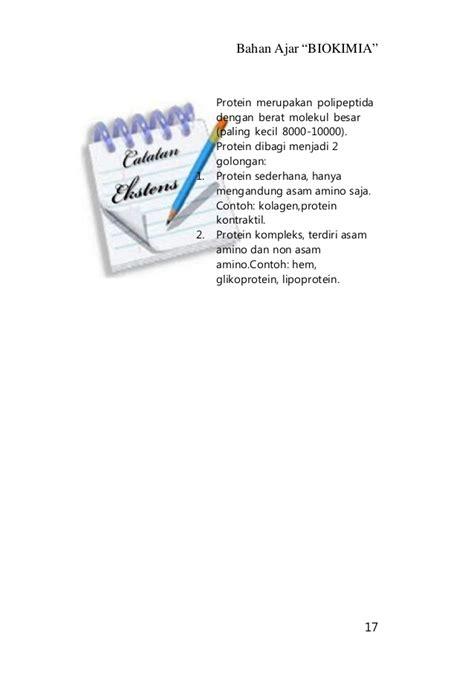 contoh biokimia bahan ajar biokimia
