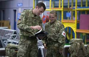Men S Flight Line british army medics leave raf brize norton on plane