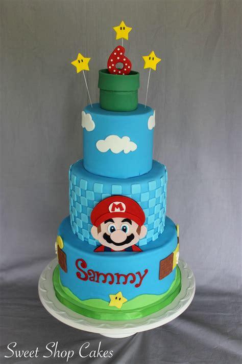 Super Mario Birthday Cake   CakeCentral.com