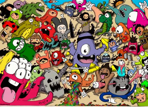doodle hd wallpaper doodle wallpapers wallpapersafari