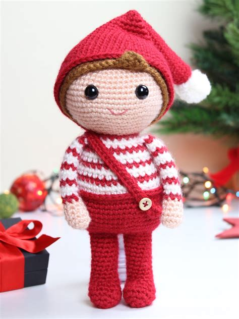 amigurumi pattern christmas merry the christmas elf tremendu crochet