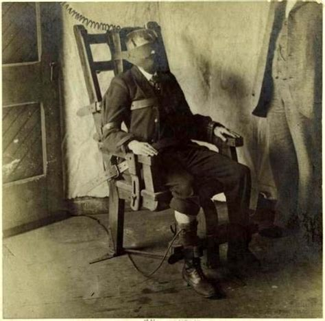 Real Electric Chair by Electric Chair Circa 1908 Vintage Pics Of And