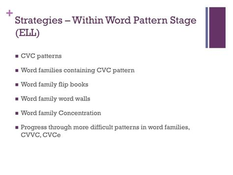 ell pattern words ppt spelling chapter 12 powerpoint presentation id 2005888