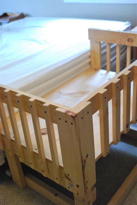Wooden Co Sleeper Bassinet by Co Sleeper Plans Co Sleeper Plans