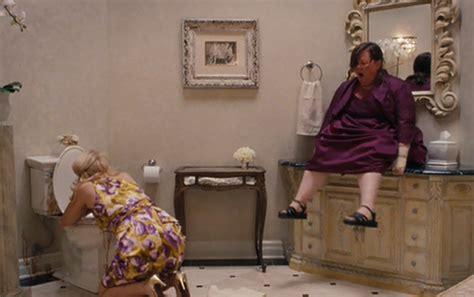 bridesmaids movie bathroom scene wwe should hire nikki bella s friend who poops in sinks