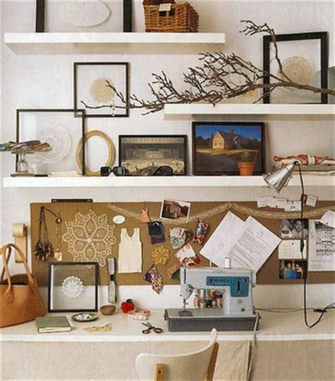spare room above desk floating shelves apartment
