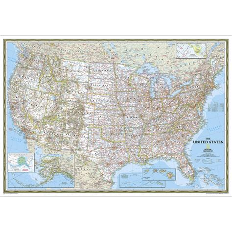 south africa classic laminated national geographic reference map books world executive wall map poster size and laminated