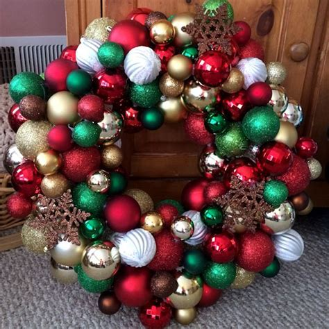 how to make an ornament wreath ornaments rainforest islands ferry