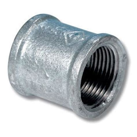 011b Connector 3 8 Drat 1 4 gbn34 3 4inch bsp galvanised fitting equal barrel
