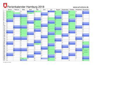 Kalender 2018 Hamburg Schulferien Schulkreis De Schulferien Kalender Hamburg 2018 Feiertage