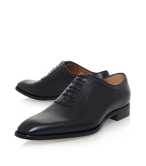 gucci oxford shoes gucci broadwick oxford shoe in black for lyst
