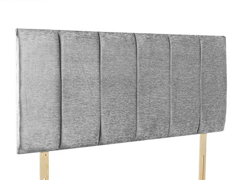 Grey Single Headboard giltedge beds oxford grey 3ft single fabric headboard