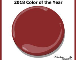 benjamin moore caliente af290 2018 color of the year window designs etc by marie mouradian