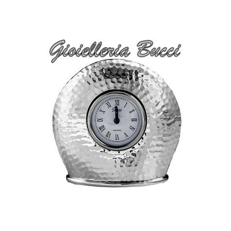 orologio sveglia da tavolo orologio sveglia da tavolo in argento le600979e