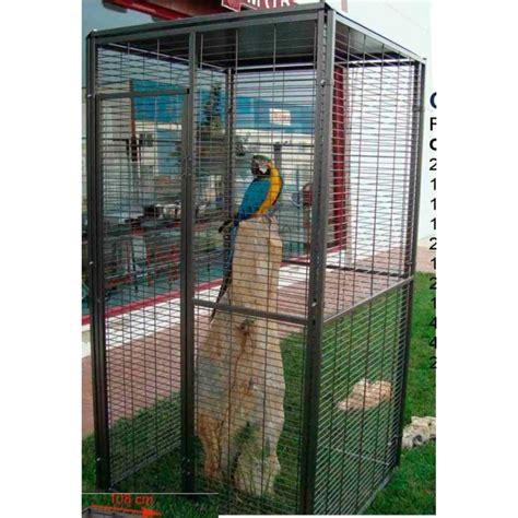 gabbie per pappagalli calopsite voliera quadrata da esterno per pappagalli 1 m 178 053 001