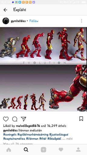 iron man evolution history marvel amino