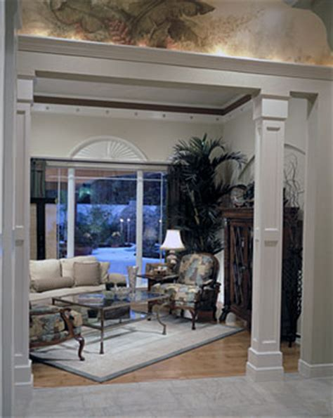 wooden columns interior house enhance your home with decorative columns millwork the house designers