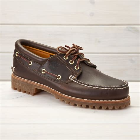 Boat Shoes by Timberland Authentic Boat Shoe Brown Shoes From The