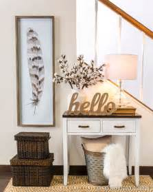 Entry Way Table Decorating 25 best ideas about foyer table decor on pinterest