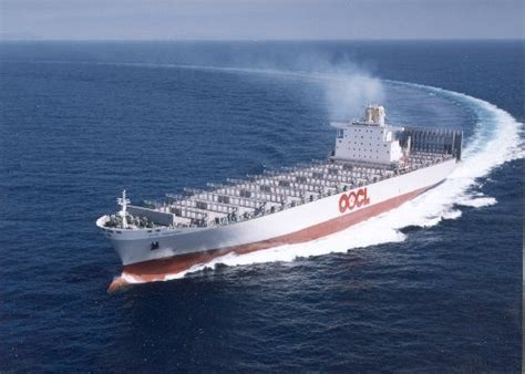 Largest Ship In The World oocl order six 21 000 teu record vessels port technology