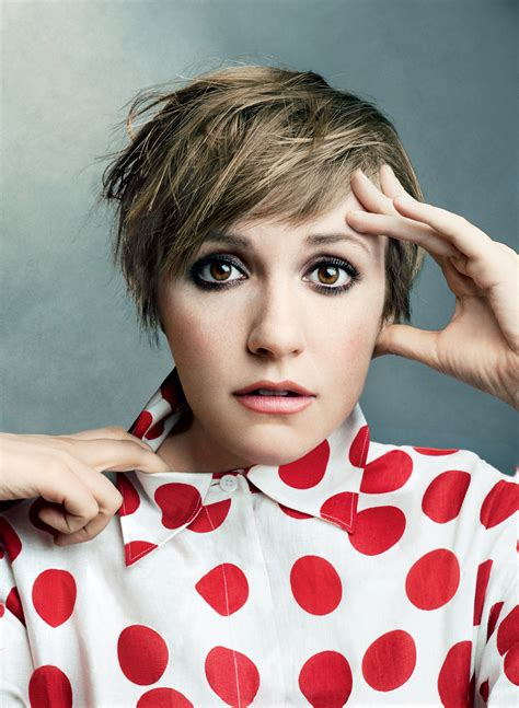 lena dunham lena dunham s new hbo show will be a feminist mad set in the magazine world vogue