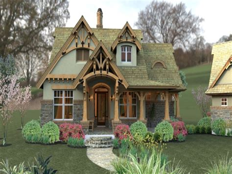 small craftsman cottage house plans small brick cottage