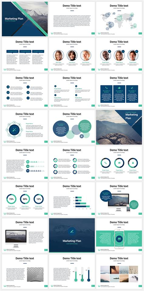 keynote themes education marketing plan free keynote template professional keynote