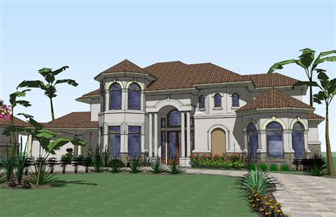 luxurious home plans luxurious mediterranean home plan 16825wg